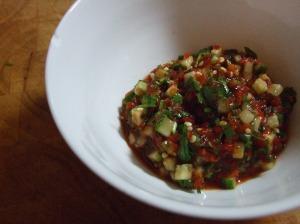 Thai Chili Cucumber Salsa