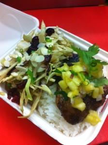 Jamaican Jerk Chicken and Pineapple Salsa