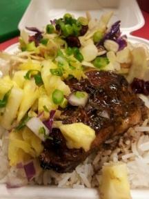Jerk Chicken and Pineapple Salsa